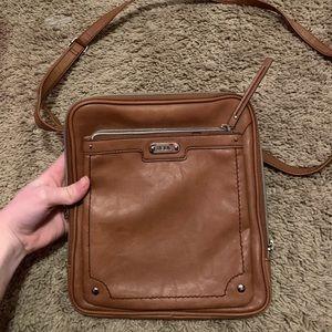Brown relic purse